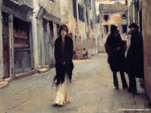 john-singer-sargent-paintings--street-in-venice-87905