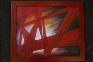 oil on panel 30 x 36
