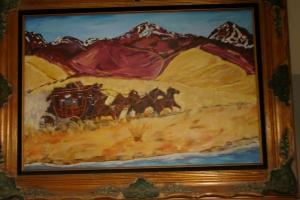Nevada Run 30x36 acrylic on panel