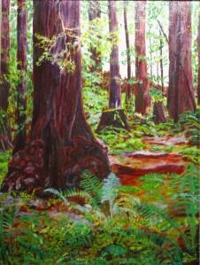 Custom Redwood oil